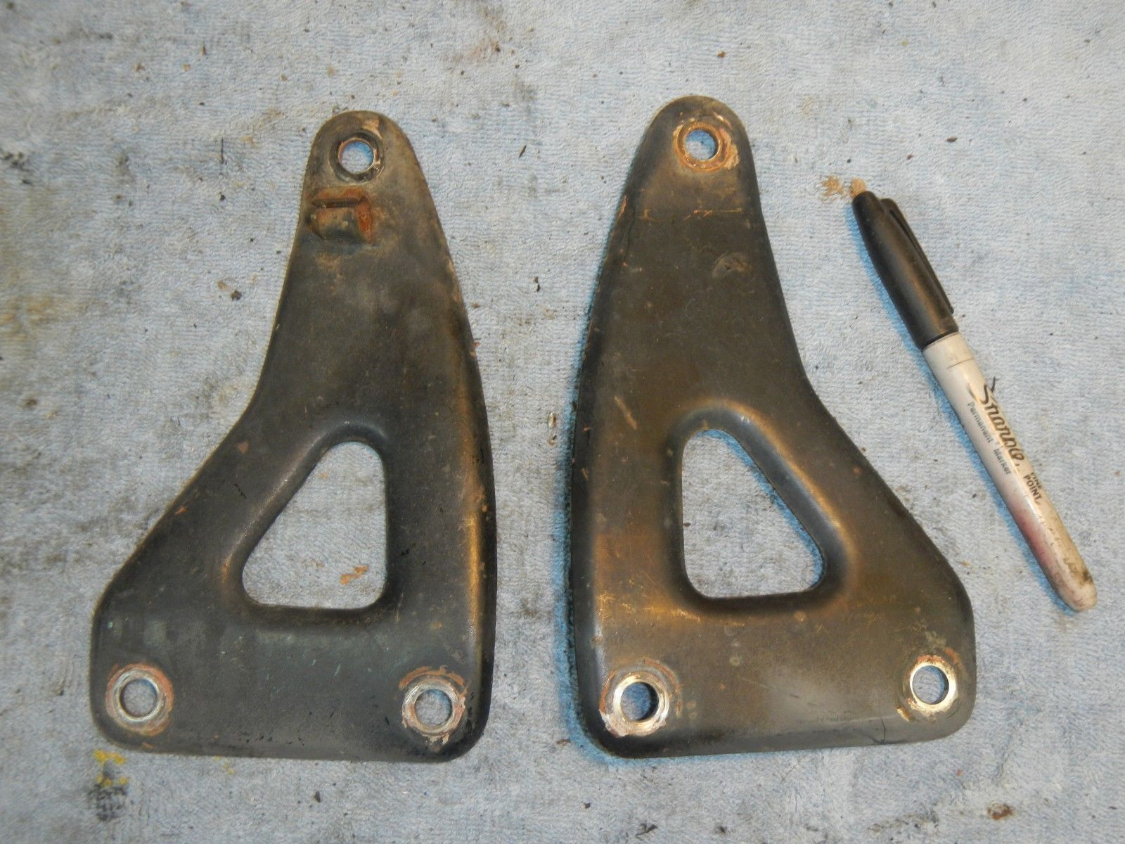 Left Right Upper motor mount brackets 1973 and 13 similar items