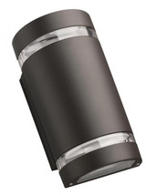 Lithonia Lighting 9.25-in H Bronze LED Outdoor Wall Light - $91.74