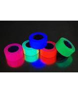 5 Pack 1 Inch UV Blacklight Reactive Fluorescent Gaffer Tape 5 Rolls x 6... - $23.95