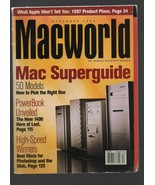 Macworld - December 1996 - Mac Superguide, PowerBook, Photoshop, Apple P... - $3.72