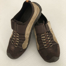Nine West Womens Fashion Sneakers Brown Suede Slip On  Athletic Shoes 6 - $13.19