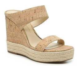 Jessica Simpson Saphita Espadrille Wedge Sandal, Multi Sizes Tan Cork JS... - $69.95
