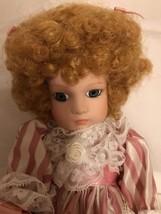Seymour Mann Connoisseur All Porcelain Edition Tracy Doll  - $16.82