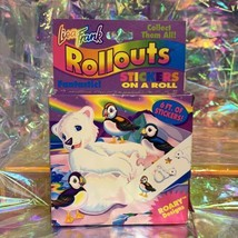 Vintage Lisa Frank Rollouts Excellent Condition 90s ROARY & The Puffin Bird Omg