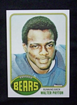 1976 Topps Football #148 Walter Payton [Chicago Bears] Rookie_ Reprint - $3.25