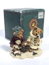 Boyds Bears Resin #2240 Edmond & Bailey...Gathering Holly 1994 NOS - $10.77