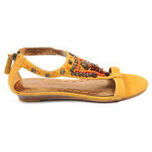 Nine West Womens Sandal NWMEDALION MED YELLOW - $73.98