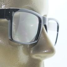 Reading Glasses TV News Reporter Bold Square Style Black Frame +3.25 Lens Power - $21.00