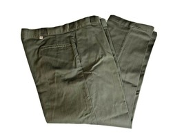 Mens Dickies Original Fit Work Pants Size 44W x 29L Grey Industrial Pock... - $20.88