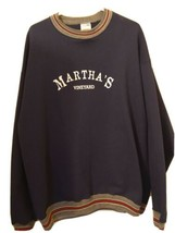 Martha's Vineyard Massachusetts Sweatshirt XXL WILSON PRO 5000 50/50 - $39.55