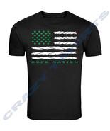Green Marijuana Leaf American Flag Tee Joint Weed 420 T-Shirt Adult size... - $8.41+
