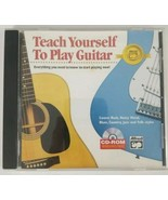 Teach Yourself to Play Guitar PC CD ROM Windows Mac 2001  - $6.79