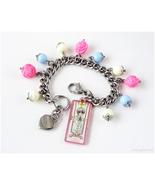 Cardcaptor Sakura Yukito Charm Bracelet, Magical Girl, Kawaii Jewelry, F... - $34.00