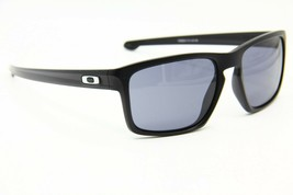 OAKLEY SLIVER OO9262-01 BLACK AUTHENTIC SUNGLASSES OO 9262 FRAME 57-18 - $54.03