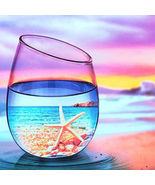 Lovely Colourful Cup 5D DIY Diamond Painting Full Needlework Mosaic Home... - $13.00+