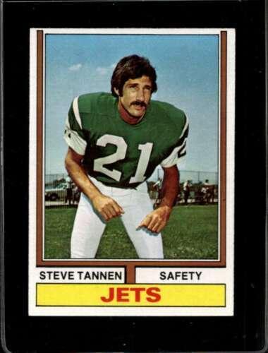 1974 TOPPS #528 STEVE TANNEN EXMT NY JETS  *X2327