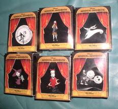 DISNEY MAGICAL MOMENTS JACK SALLY LOCK SHOCK &BARREL BOXED PIN SET - $144.99
