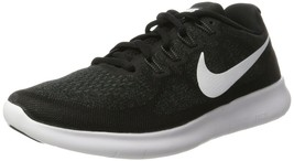 Nike Men's Free RN 2017 Running Shoe Black/White/Dark Grey/Anthracite Si... - $83.07