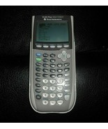 TEXAS INSTRUMENTS TI-84 PLUS SILVER EDITION GRAPHING CALCULATOR USED & T... - $73.87