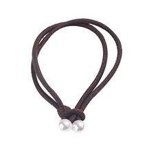 Pack of 10 Beautiful Hair Ropes Girls Ponytail Holders Elastics Hair Ties Brown