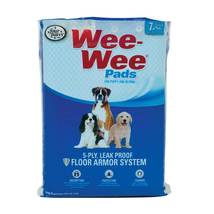 """Four Paws Wee-Wee Pads 7 pack White 22"""" x 23"""" x 0.1"""" - $7.99"""
