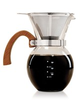 HIC Harold Import Co. 43781 HIC Pour-Over Coffee Maker, Clear - $56.70