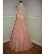 Vtg St. Michael Accordion Pleats Night Dress Gown UK 14 USA 12 (L) - $48.00