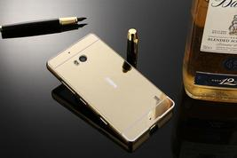 Lumia 930 Case Plating Mirror Aluminum Metal Bumper + Hard PC Back Cover For Mic image 5