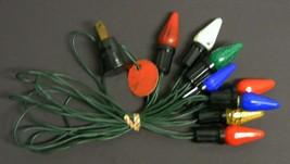 Vintage C-6 Christmas Light Strand #20 - $17.50