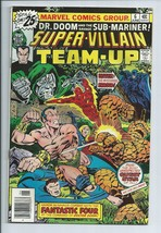 Super Villain Team Up #6 DR. Doom and Sub-Mariner Marvel Comic Book from... - $4.54