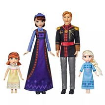Disney Frozen 2 Arendelle ROYAL FAMILY 4-Doll Exclusive Set NIB/Sealed - $48.99