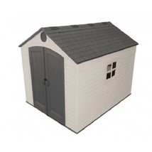 Lifetime 8x10 Plastic Storage Shed Kit w/ Floor (6405) - $1,249.70