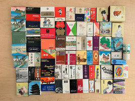 Set of 115 Vintage 40 to 50 Years Old Japanese Matchboxes Various Sizes - $54.45