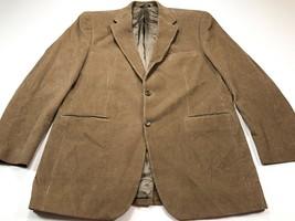 Ralph Lauren Men's Sport Coat Blazer Brown Corduroy 42L Long - $79.99