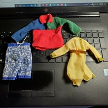 Boy Doll Clothes Ken + Other 80s+ Board Shorts Shirt + Barbie Authentic ... - $7.84
