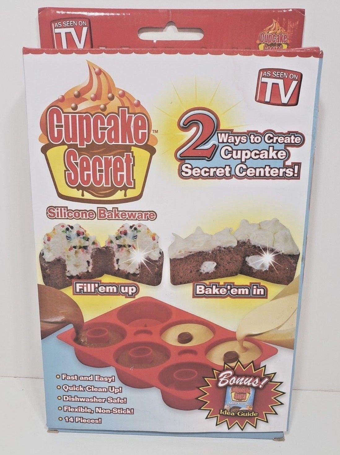 Cupcake Secret As Seen On T.V .. Silicone Baking Pan image 2