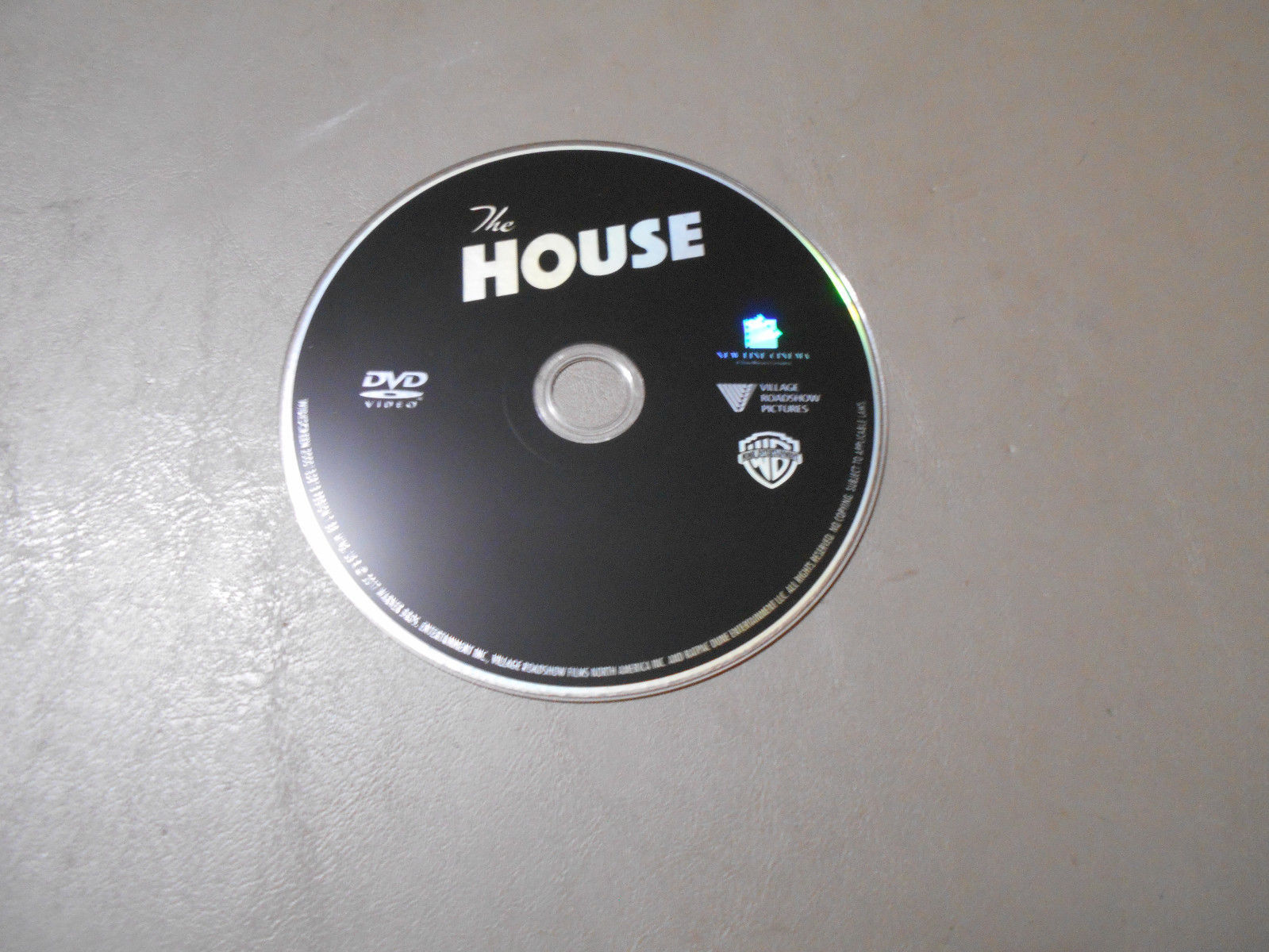 Primary image for The House Used DVD - DVD DISC ONLY / Will Ferrell - Amy Poehler