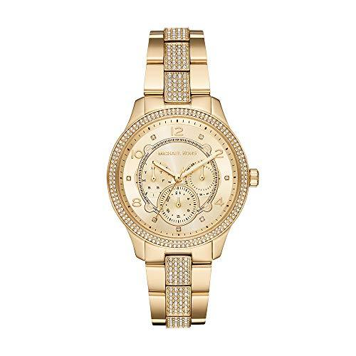 Primary image for Michael Kors Watches Women's Runway Multifunction Gold-Tone Stainless Steel