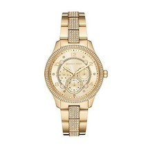 Michael Kors Watches Women's Runway Multifunction Gold-Tone Stainless Steel - $321.72