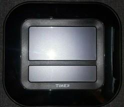 Timex Digital 2113 Atomic Clock w/ Indoor Temperature and Calendar - $14.85