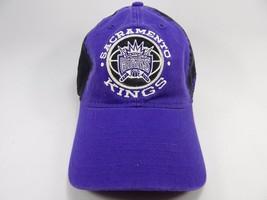 Sacramento Kings Adidas NBA Slouch Buckle Back Curve Brim Cap Hat NEW!