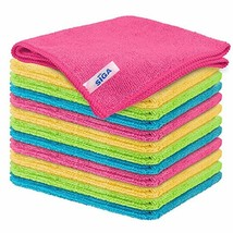 """Microfiber Cleaning Cloth, Pack of 12, Size:12.6"""" x 12.6"""" - $16.36"""