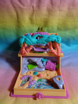 Vintage 1995 Polly Pocket Pink Storybook Glitter Island Playset Only - as is - $25.72