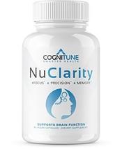 NuClarity - Premium Natural Nootropic Brain Supplement - #1 Focus, Energ... - $36.41