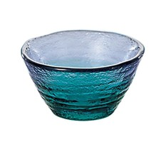 Ochoko Guinomi Japanese Sake cup Tsugaru vidro glass bluelagoon from japan - $26.01