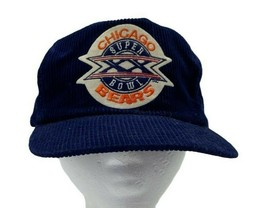 VTG Sports Specialties Chicago Bears Super Bowl XX NFL Corduroy Snapback... - £17.90 GBP