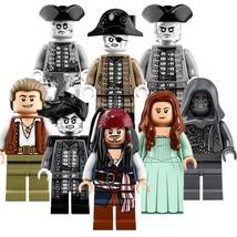 8 pcs Figure Pirates of the Caribbean Series Minifigure Blocks for LEGO ... - $18.77
