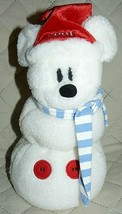 "Disney Store 2001 Snowman Stuffed Plush 12"" - $18.51"