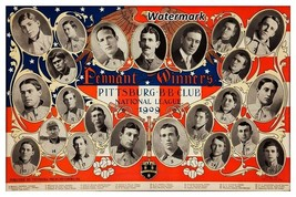 MLB 1909 Pittsburgh Pirates Pennant Champion Team Picture 8 X 12 Photo P... - $7.99