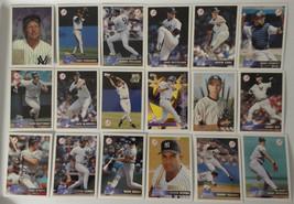 1996 Topps New York Yankees Team Set of 22 Baseball Cards - $20.00
